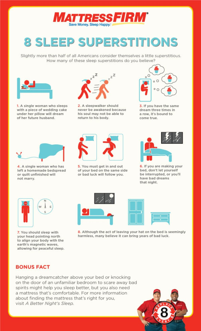 8 Sleep Superstitions To Put To Rest
