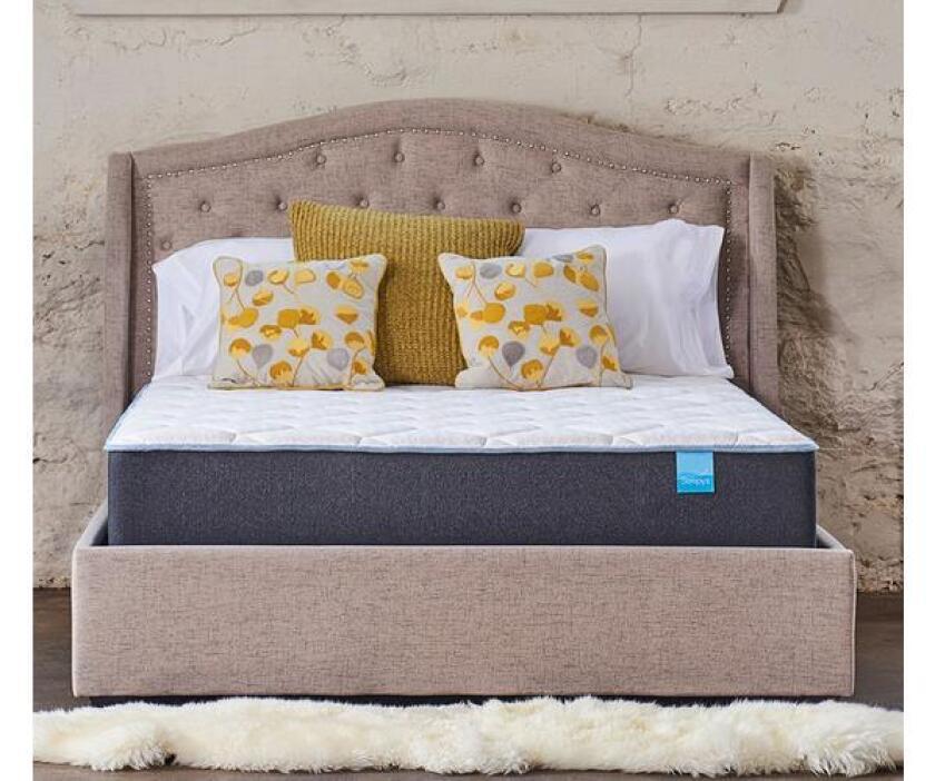 sleepys medium quilted gel foam mattress