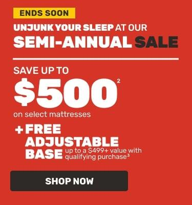 Semi-Annual Sale Ends Soon. Save up to $500. Shop Now