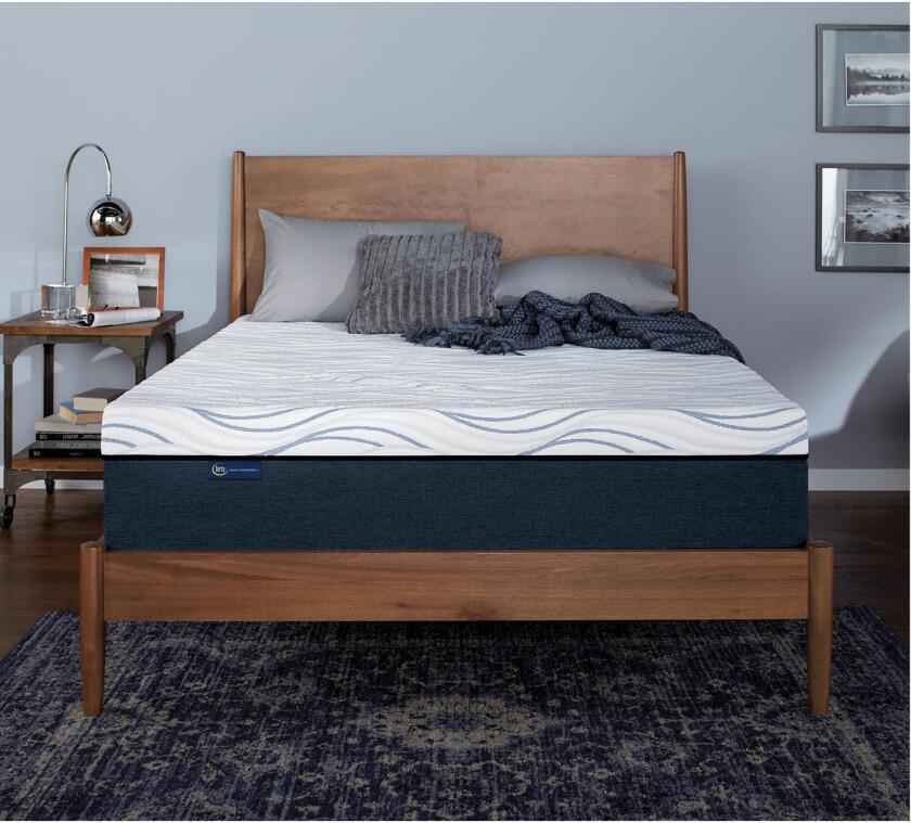 "Perfect Sleeper Express 10"" Luxury Firm Gel Memory Foam Mattress"