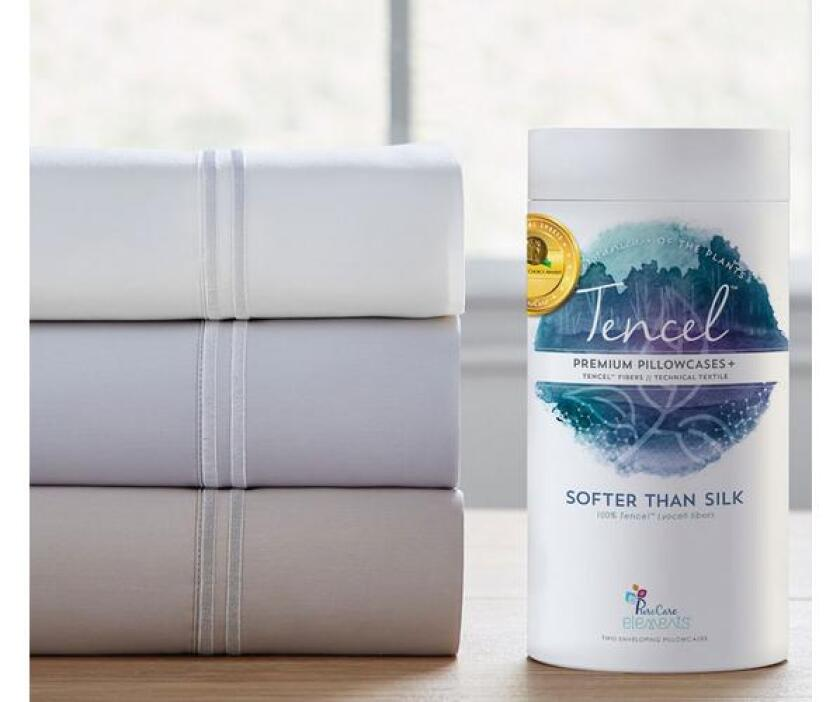 purecare tencel cooling sheet set will help you sleep cool throughout the summer