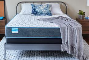 "Sleepy's Rest 9.5"" Firm Innerspring Mattress"