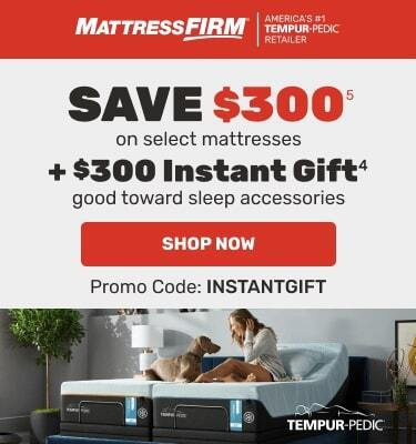 Tempur-Pedic - Save $300 on select mattresses + $300 instant gift. Shop Now