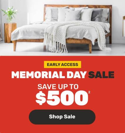 Early Access- Memorial Day Sale - Save up to $500
