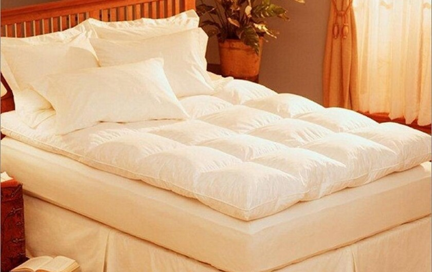 pacific coast feather bed mattress topper