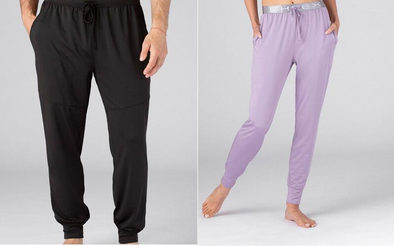 sheex joggers men women work from home accessories