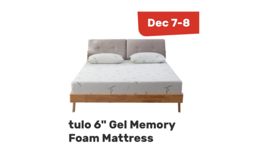 Tulo Gel Memory Foam Mattress