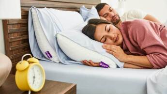 Purple - Save up to $400 on mattress and bundle - Sleep Bundles include two pillows, sheets, and protector
