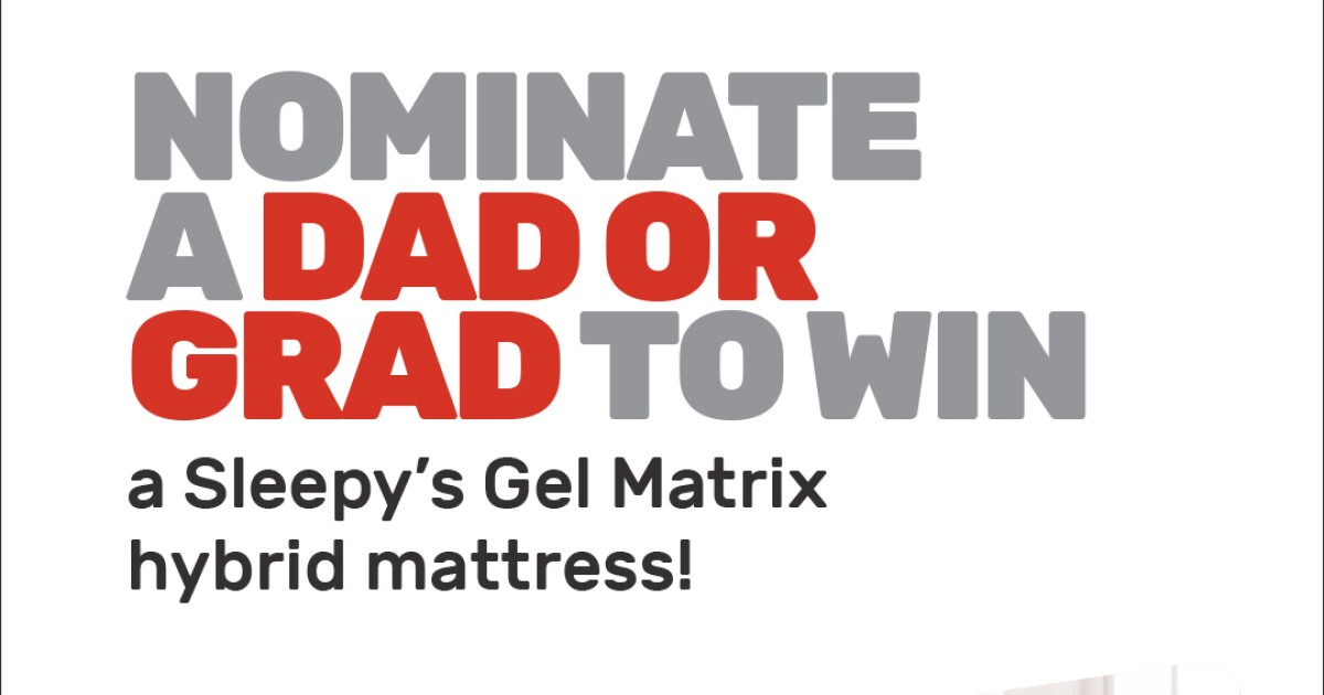 Dads & Grads Sweepstakes