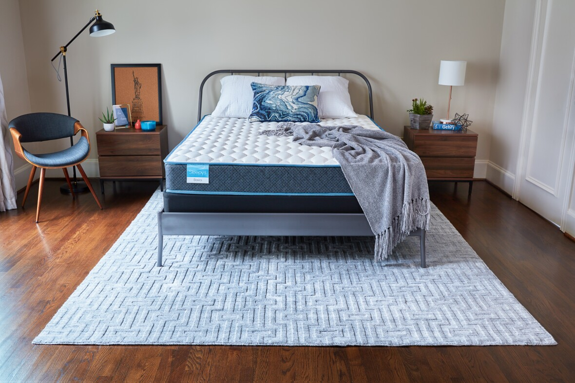 "Sleepy's Basic 8.25"" Firm Innerspring Mattress"