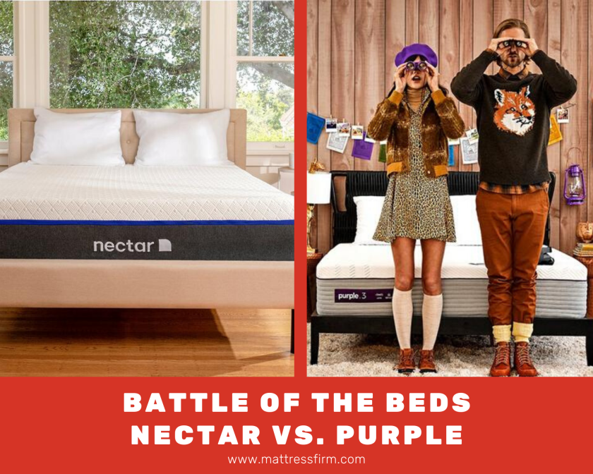 battle of the beds nectar vs purple mattress
