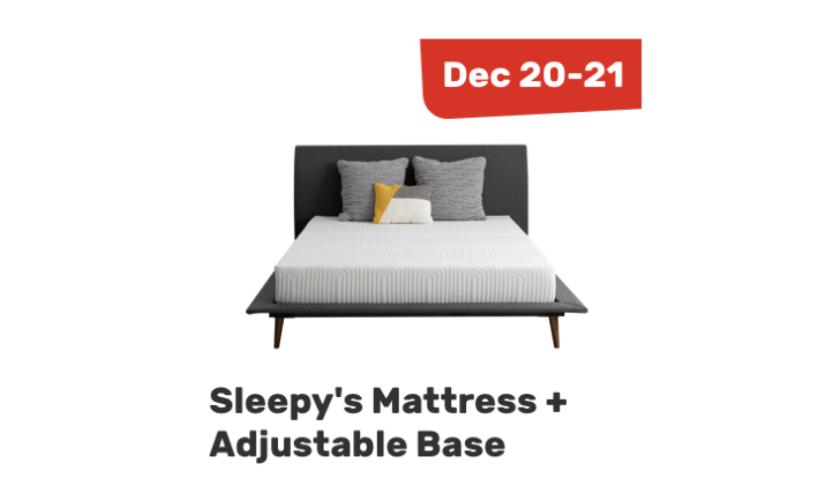 DREAMcember: Sleepy's Mattress and Adjustable Base