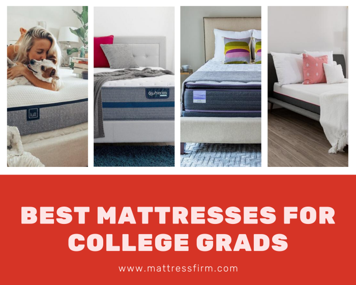 the best mattresses for college graduates in 2020