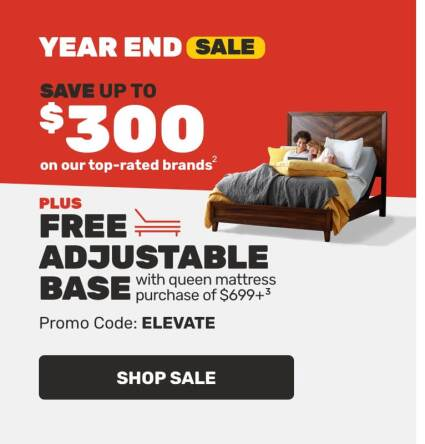 Year End Sale-Save up to $300