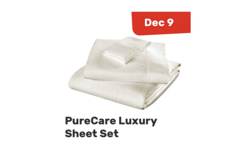 Dreamcember: PureCare Luxury Microfiber Wrinkle Resistant Sheet Set