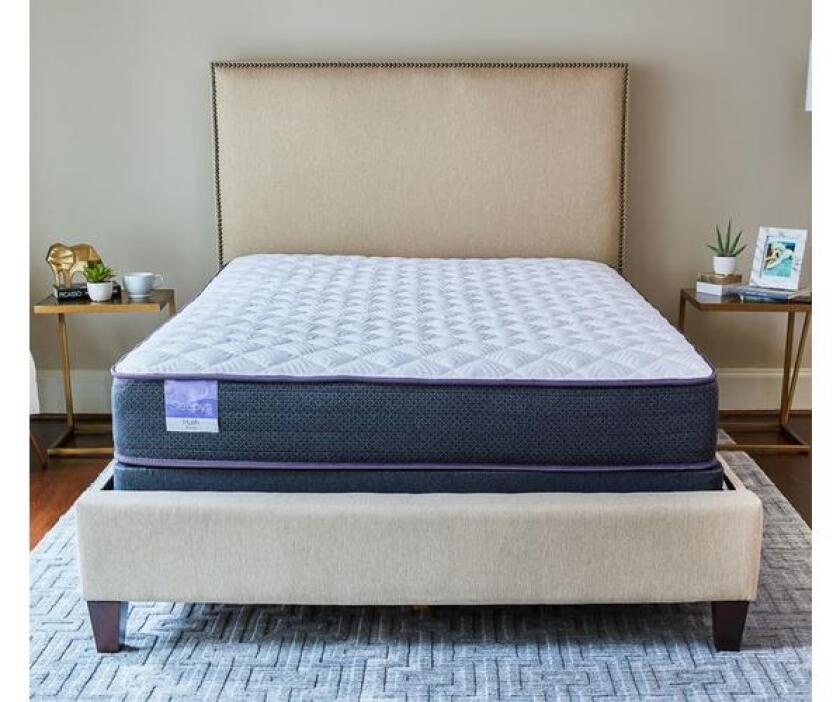 sleepys hush 10 inch mattress