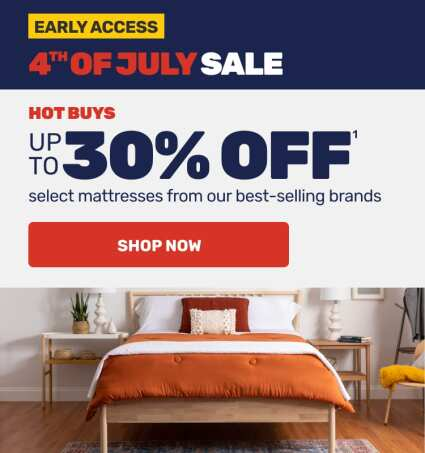 Early Access - 4th of July Sale Hot Buys - Shop Now
